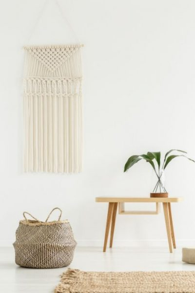 image of macrame wall hanging