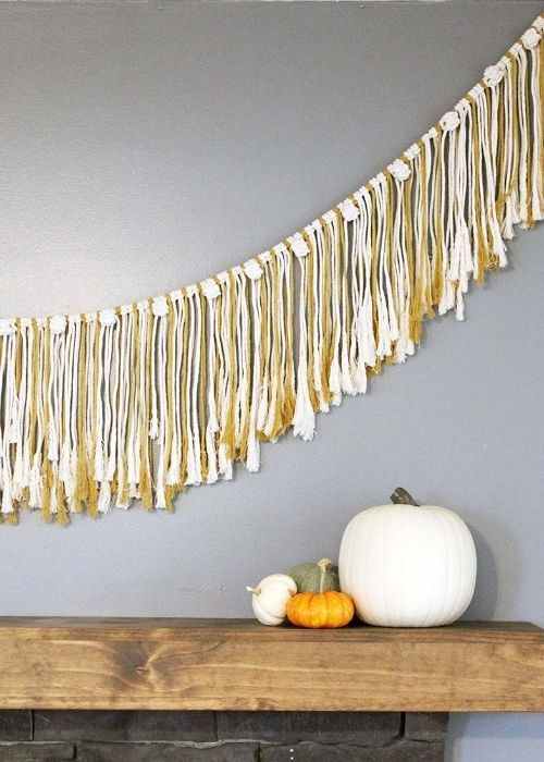 How to Make A Simple Macrame Garland